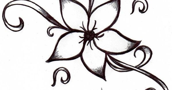 Cool-and-easy-flowers-to-draw-cool-simple-flower-designs