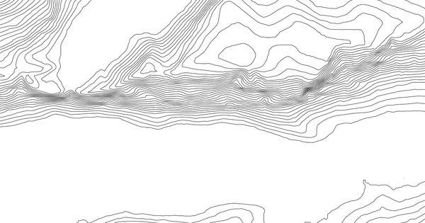Contour Line Landscape Drawing : Awesome contour line profile images landscape