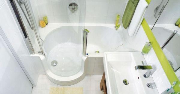 kleines bad gestalten beispiel badewanne duschkabine bad pinterest kleines bad gestalten. Black Bedroom Furniture Sets. Home Design Ideas