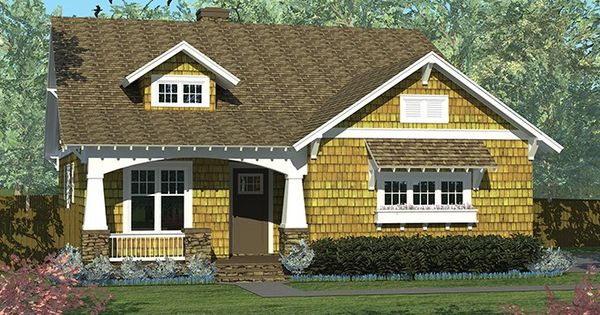 Eplans craftsman house plan craftsman cottage with side for Best selling craftsman house plans