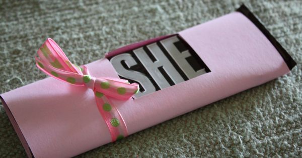 "Baby shower party favor. Reveal ""He"" or ""She!"" {PRECIOUS} :)"