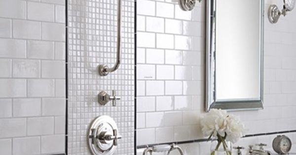 All White Tile Bathrooms Modern Bathroom Tiles