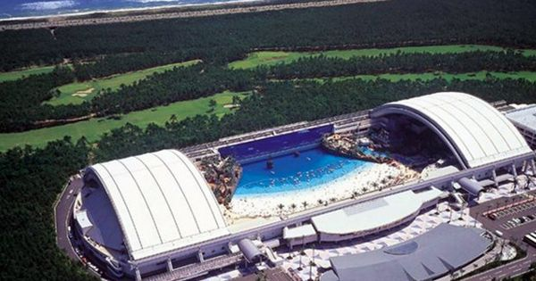 Over In Japan Why Not Visit The World 39 S Largest Indoor Swimming Pool The Complex Features