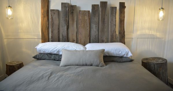 fabriquer tete de lit en bois de grange recherche google. Black Bedroom Furniture Sets. Home Design Ideas