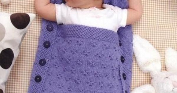 Free Crochet Pattern Baby Sleeping Bag : Sleeping bag for newborn Pattern free knitting/Crochet ...