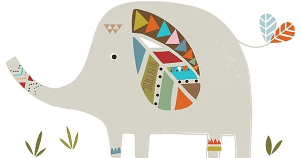 Sticker xl chambre d 39 enfant et b b elephant imagenes for Stickers elephant chambre bebe