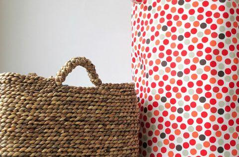 Diy tuto sac de rangement en tissu couture pinterest bricolage et tuto sac - Tuto sac tricot en tissu ...