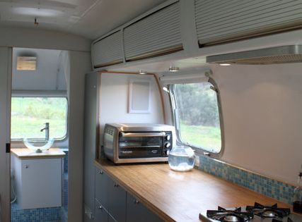 beautiful airstream reno, full house tour, occupants live in it full time,