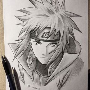 30 Min Sketch Of Minato Hope You Like It My School Is