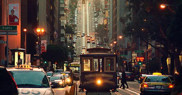 The Cable Cars of San Francisco - wonderful way to travel