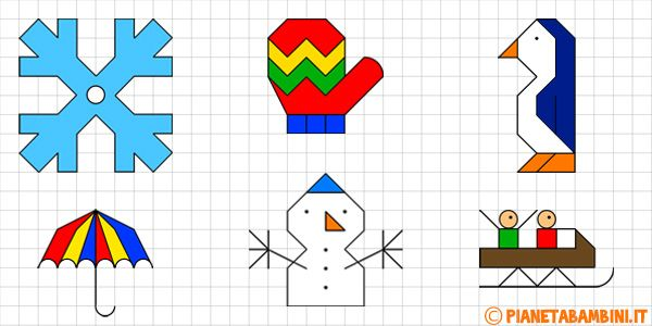 Disegni Di Natale A Quadretti.Cornicette Sull Inverno A Quadretti Da Disegnare E Colorare Disegni Da Colorare Disegni Disegni Da Colorare Natalizi