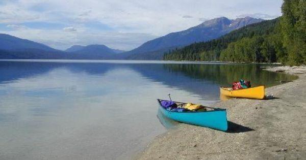 B C Gray Provincial Park Beyond Spectacular Clearwater Lake Adventure Treks Canada Summer