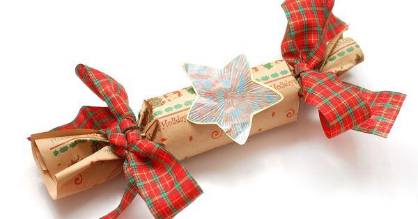 Fabriquer des crackers de no l crackers faits maison - Cadeaux de noel a fabriquer ...