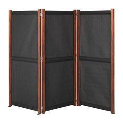 Slatto Privacy Screen Outdoor Black Brown Stained Ikea Privacy Screen Outdoor Privacy Screen Balcony Privacy Screen