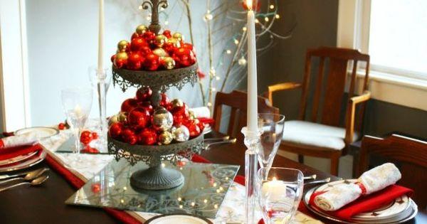 Déco de table pour Noël en 33 idées originales faciles à imiter ...