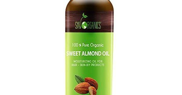 Amazon Com Aura Cacia Organics Skin Care Oil Sweet Almond 4 Ounce Body Oils Beauty Oil Moisturizer Organic Oil Almond Oil