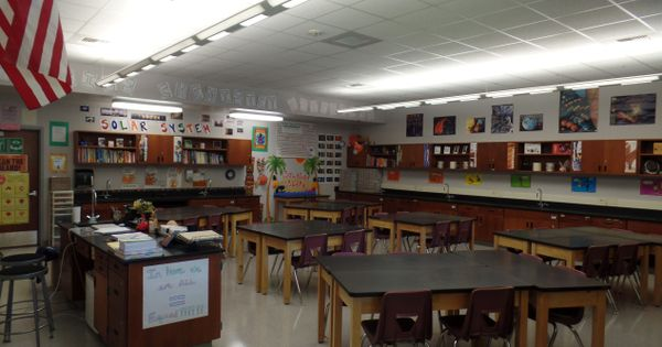Classroom Wall Decorations Middle School ~ Middle school science classroom decorations table layouts