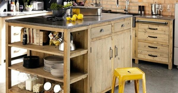 lot de cuisine en bois plein la barraque pinterest