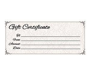 Classic Antique Gift Certificate Yourtemplatefinder Free Gift Certificate Template Free Printable Gift Certificates Gift Certificate Template