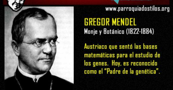 Gregor Mendel Revolucioncatolica