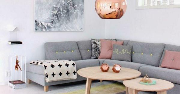 Kupfer lampenschirm wohnzimmer ideen bilder design for Kupfer deko wohnzimmer