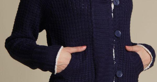 Yoki Ena Sweater In Navy - Beyond the Rack