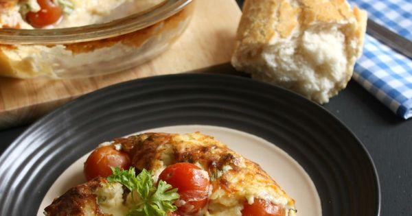 Cherry tomato clafoutis | Recipe | Cherry Tomatoes, Cherries and ...