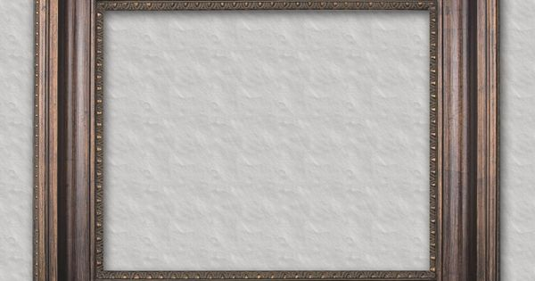 Walnut with bead readymade frame ready for your favorite family portrait art or mirror - Readymade wall partitions ...