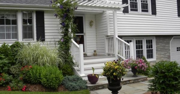 Split Level Curb Appeal How To Add Character And Architectural Interest To The Exter Split Level Remodel Exterior Split Level House Exterior Exterior Remodel