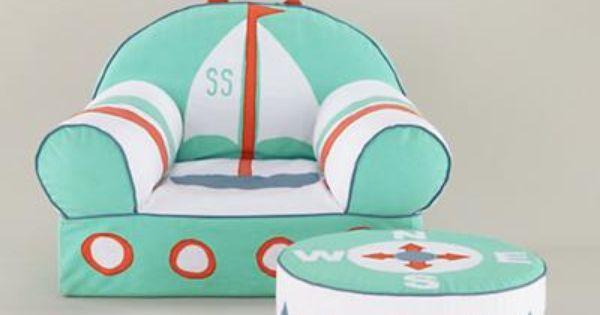 Candy Stick Mint Kids Chair Lounges Stoelen En Zeilboten