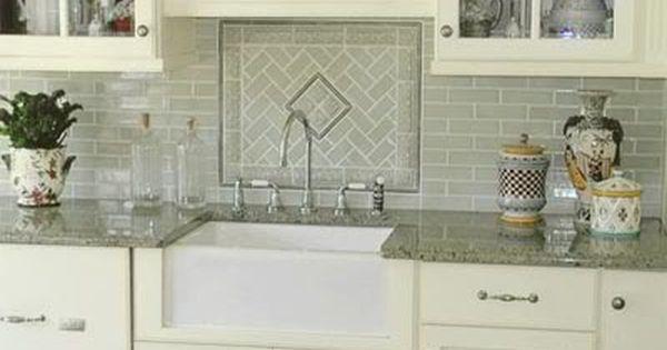 Sink With No Window Above Pictures Please Kitchens Forum Gardenweb Kitchen Sink Decor Kitchen Tiles Backsplash Patterned Tile Backsplash