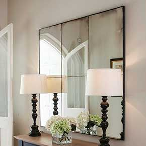 Antiqued Mirror Glass Looking Glass Of Bath Antique Mirror