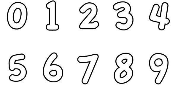 Numeri Da Stampare Colorare E Ritagliare Per Bambini Pianetabambini It Numeri Attivita Con I Numeri Matematica Per Bambini