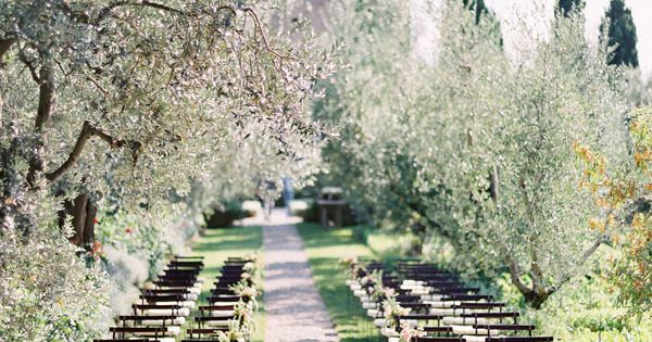 Beautiful outdoor ceremony space. wedding ceremony venue