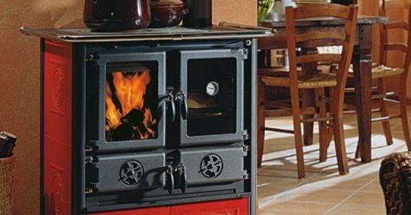 Estufa cocina rosetta cocina econ mica estufa horno - Estufa de lena para radiadores ...