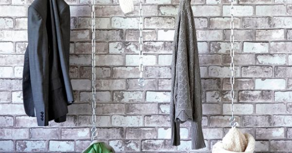 Muur Ideeen Gang : kapstok At Home - Inspiration. Pinterest Kleding
