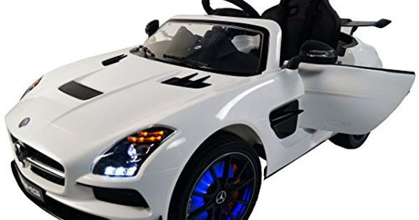 Mercedes Sls Amg Premium 12volt Mp3 Electric Battery Powered Ride On Kids Boys Girls Toy Car Rc Parental Remote Led Lights M Kids Ride On Toy Cars For Kids Car