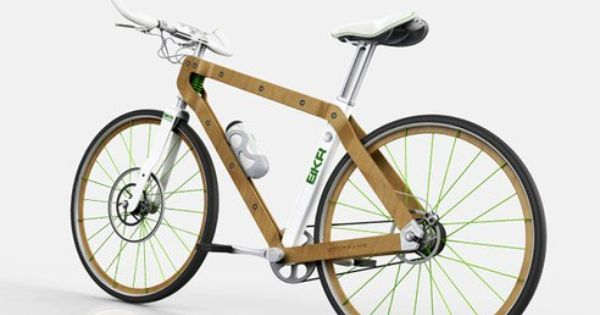 Jeep Introduces A Big Electric Mountain Bike Wood Bike Wooden Bicycle Bike Design