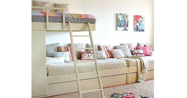 Ideas para un cuarto infantil compartido compartir - Decorar habitacion piso compartido ...