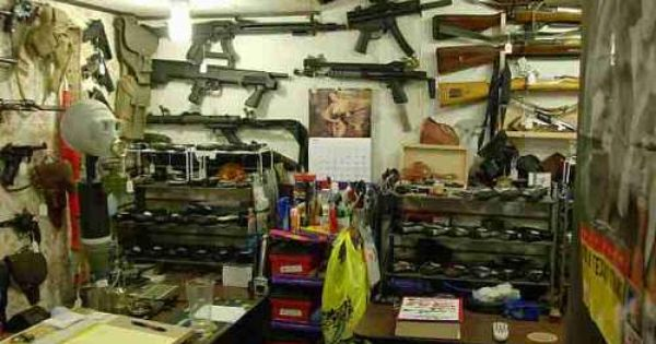 Man Cave Storage Wars : Military man cave my gun room a few years back is