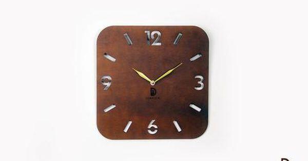 ساعة حائط خشب بتصميم أنيق و بسيط يمكنك وضعها في ريسبشن مودرن أو غرفة النوم أوغرفة الجلوس وذلك لتصميمها البسيط والعصري التصميم ال Clock Coffee Tea Wall Clock