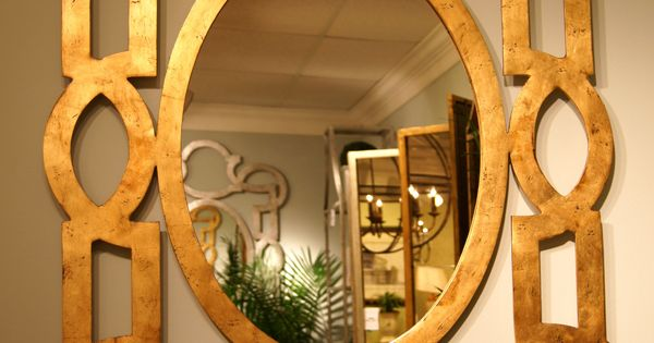 Chelsea House 200 N. Hamilton St Fabulous Tracery Mirror designed by Lisa