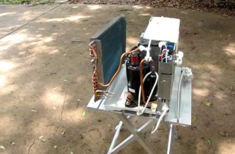 Diy Hybrid Water Heater And Air Conditioner For My Solar Trailer