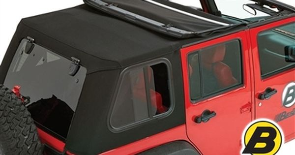 Bestop Trektop Pro Soft Top With Removable Glass Windows For 07 15