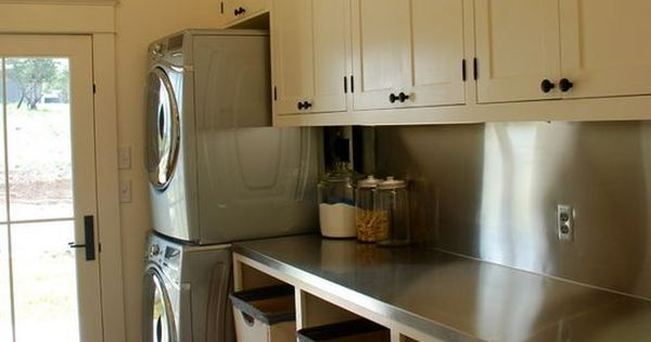 Modern Country Laundry W Sorter Bins Laundry Rooms