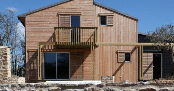 Une Maison Bretonne Organique Et Bioclimatique Architecture Bretagne Et Nature