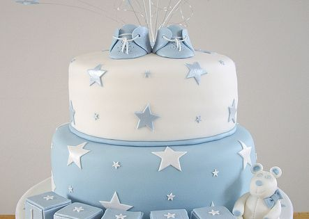 Lucas' Christening Cake by Chaos Cakes (Emma), via Flickr