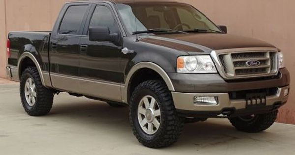 Great Condition 2005 Ford F 150 King Ranch Crew Cab With Images