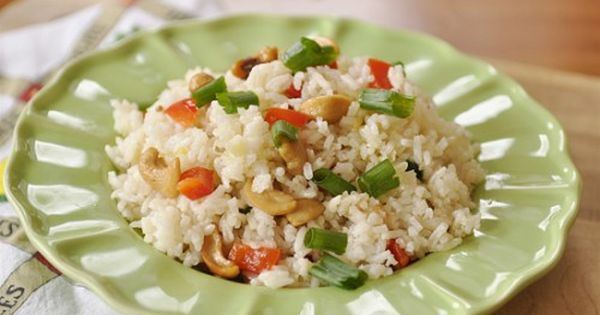 Cashew Nut Rice | Recipe | Rice, Rice Dishes and Cashew Chicken