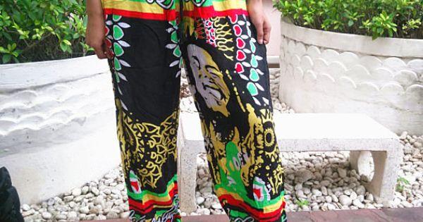 Bob Marley Unisex Reggae Rasta Yoga Pants Harem Print By